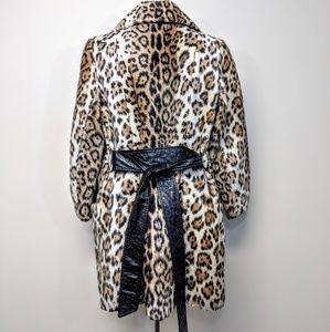 mrs milton Jackets & Coats - Faux Fur Leopard Coat